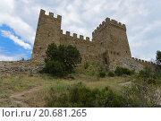 Генуэзская крепость в Крыму. Стоковое фото, фотограф Александр Лещинский / Фотобанк Лори