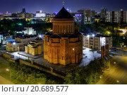 Кафедральный собор Армянской Православной Церкви в Москве (2014 год). Стоковое фото, фотограф Сергей Алимов / Фотобанк Лори