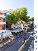 Купить «Гостиница Леопард. Римини. Италия», фото № 20721401, снято 6 ноября 2013 г. (c) Евгений Ткачёв / Фотобанк Лори