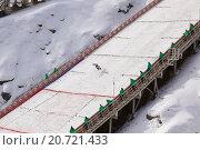 Купить «Континентальный кубок по прыжкам на лыжах с трамплина. Нижний Тагил», фото № 20721433, снято 17 марта 2013 г. (c) Евгений Ткачёв / Фотобанк Лори