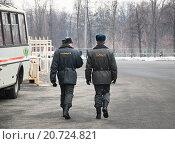 Купить «Полицейский патруль», эксклюзивное фото № 20724821, снято 3 марта 2012 г. (c) Алёшина Оксана / Фотобанк Лори