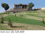 Купить «Вид на  Мечеть Хазрет-Хызр. Самарканд.», фото № 20729409, снято 22 сентября 2007 г. (c) Elizaveta Kharicheva / Фотобанк Лори