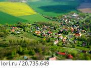 Деревня в Чехии (2014 год). Стоковое фото, фотограф Ольга Галахова / Фотобанк Лори