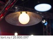 Лампа с абажуром. Стоковое фото, фотограф Сергей Блинов / Фотобанк Лори