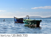 Купить «Fishing boats», фото № 20860733, снято 18 июня 2019 г. (c) PantherMedia / Фотобанк Лори