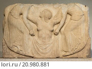 Купить «Rome. Italy. Ludovisi Throne (5th C BC), Palazzo Altemps. Museo Nazionale Romano. Main front panel shows Aphrodite rising from the sea.», фото № 20980881, снято 8 февраля 2015 г. (c) age Fotostock / Фотобанк Лори
