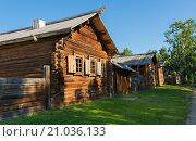 Традиционная деревня Сибири (2015 год). Стоковое фото, фотограф Юрий Александров / Фотобанк Лори