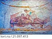 Erotic Fresco the Ancient Brothel Pompeii Italy. Стоковое фото, фотограф Zoonar/Graham Mulroo / age Fotostock / Фотобанк Лори