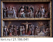 Купить «Neuruppin, Klosterkirche/ Altarrelief», фото № 21186041, снято 20 октября 2019 г. (c) age Fotostock / Фотобанк Лори