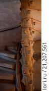 Купить «Arkadenbau von Schlo Althaus 1581_1585 Ausschnitt der Spindel im Treppenturm», фото № 21207561, снято 22 января 2018 г. (c) age Fotostock / Фотобанк Лори
