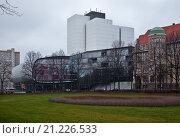 Leipzig, Deutsche Nationalbibliothek. Стоковое фото, фотограф Schütze/Rodemann / age Fotostock / Фотобанк Лори
