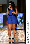 Купить «Jordin Sparks kicks off the release of her newest album 'Right Here Right Now' with a special live performance at Fashion Show Mall Featuring: Jordin Sparks...», фото № 21333801, снято 15 августа 2015 г. (c) age Fotostock / Фотобанк Лори