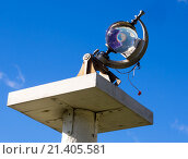 Купить «Гелиограф на метеостанции», эксклюзивное фото № 21405581, снято 12 ноября 2015 г. (c) Вячеслав Палес / Фотобанк Лори