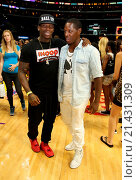 Купить «2015 Ball for a Cause at the Staples Center Featuring: DJ Clue Where: Los Angeles, California, United States When: 06 Sep 2015 Credit: Guillermo Proano/WENN.com», фото № 21431309, снято 6 сентября 2015 г. (c) age Fotostock / Фотобанк Лори