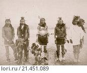 Купить «Indian Warriors.», фото № 21451089, снято 8 июля 2020 г. (c) age Fotostock / Фотобанк Лори