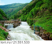 Купить «Small hydro power plant in Turkey», фото № 21551533, снято 12 мая 2014 г. (c) easy Fotostock / Фотобанк Лори