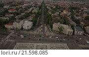 Купить «Площадь героев (Hősök tere) в Будапеште», видеоролик № 21598085, снято 17 июля 2019 г. (c) kinocopter / Фотобанк Лори