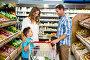 Happy family doing shopping, фото № 21675685, снято 15 апреля 2015 г. (c) Wavebreak Media / Фотобанк Лори