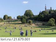 Купить «Royal Observatory, Greenwich Park, London, United Kingdom», фото № 21679001, снято 6 сентября 2015 г. (c) age Fotostock / Фотобанк Лори