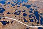 Aerial photos of arctic tundra wetlands, фото № 21685885, снято 26 сентября 2015 г. (c) Владимир Мельников / Фотобанк Лори