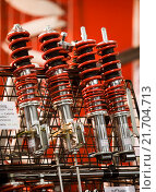 Купить «Motor Show 2008», фото № 21704713, снято 1 декабря 2008 г. (c) Caro Photoagency / Фотобанк Лори