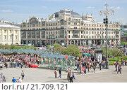 Купить «Театральная площадь и гостиница Метрополь», эксклюзивное фото № 21709121, снято 9 мая 2013 г. (c) Алёшина Оксана / Фотобанк Лори