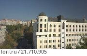 Купить «Заявочный план: институт, офисный центр. Съемка с коптера. RAW», видеоролик № 21710905, снято 15 ноября 2019 г. (c) kinocopter / Фотобанк Лори