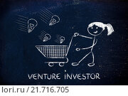 Купить «investor capitalist, selecting ideas and start-ups to invest on», фото № 21716705, снято 19 июня 2018 г. (c) PantherMedia / Фотобанк Лори