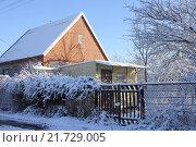 Купить «Кубань, дачи, зима», фото № 21729005, снято 7 февраля 2016 г. (c) Анатолий Маркин / Фотобанк Лори