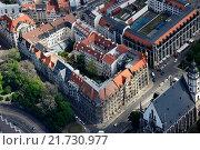Купить «Leipzig, Germany, living and Geschaeftsgebaeude at the top Dittrichring in Leipzig», фото № 21730977, снято 13 мая 2015 г. (c) Caro Photoagency / Фотобанк Лори