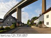 Купить «Siegen, Germany, Siegtalbruecke the A45 near Siegen», фото № 21731057, снято 27 мая 2015 г. (c) Caro Photoagency / Фотобанк Лори