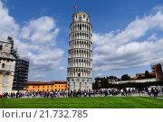 Купить «Pisa, Tuscany, the Tuscan city of Pisa», фото № 21732785, снято 3 апреля 2015 г. (c) Caro Photoagency / Фотобанк Лори