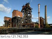 Купить «Duisburg, Germany, the former Thyssen blast furnace Eisenhuette Meiderich», фото № 21742353, снято 15 октября 2009 г. (c) Caro Photoagency / Фотобанк Лори