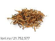 Купить «Китайский желтый чай», фото № 21752577, снято 8 февраля 2016 г. (c) Дмитрий Крамар / Фотобанк Лори