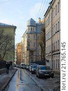 Купить «Щербаков переулок. Санкт-Петербург», эксклюзивное фото № 21765145, снято 30 января 2016 г. (c) Александр Щепин / Фотобанк Лори