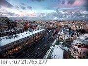 Улица Якиманка, Москва (2016 год). Стоковое фото, фотограф Сергей Алимов / Фотобанк Лори