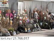 Купить «Садоводы покупают саженцы», эксклюзивное фото № 21766017, снято 5 мая 2012 г. (c) Алёшина Оксана / Фотобанк Лори