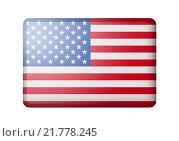 Купить «Флаг США», иллюстрация № 21778245 (c) Александр Макаров / Фотобанк Лори