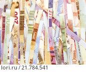 Купить « Euro note vintage», фото № 21784541, снято 26 марта 2019 г. (c) PantherMedia / Фотобанк Лори