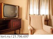 Купить «Guadalajara, Spain, old-fashioned furniture in a hotel room», фото № 21796697, снято 12 августа 2010 г. (c) Caro Photoagency / Фотобанк Лори