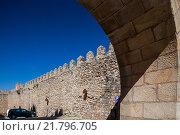 Купить «Siguenza, Spain Detail of the Castillo de Sigueenza», фото № 21796705, снято 12 августа 2010 г. (c) Caro Photoagency / Фотобанк Лори