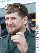 Купить «Dubai, United Arab Emirates, Ramzan Kadyrov, President of the Chechen Republic», фото № 21799005, снято 28 марта 2015 г. (c) Caro Photoagency / Фотобанк Лори