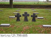 Poelkapelle, Belgium, the German War Cemetery Langemark (2015 год). Редакционное фото, агентство Caro Photoagency / Фотобанк Лори