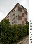 Купить «Sangerhausen, Germany, a monotonous mostly uninhabited prefab», фото № 21800089, снято 5 сентября 2009 г. (c) Caro Photoagency / Фотобанк Лори