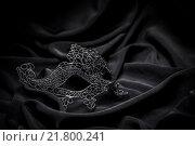 Купить «Crochet carnival mask», фото № 21800241, снято 22 июля 2019 г. (c) PantherMedia / Фотобанк Лори