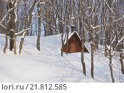 Купить «Свято-Иоанно-Богословский монастырь, вход в пещеру», фото № 21812585, снято 23 января 2016 г. (c) Павел Москаленко / Фотобанк Лори