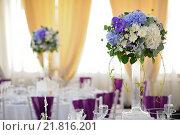 Оформление свадьбы. Стоковое фото, фотограф Владимир Бектышев / Фотобанк Лори