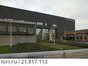 Berlin, Erwin Schroedinger center in Adlershof (2005 год). Редакционное фото, агентство Caro Photoagency / Фотобанк Лори