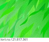 Зеленые листья, фон. Стоковая иллюстрация, иллюстратор Фомичёв Роман / Фотобанк Лори