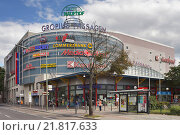 Berlin, Germany, shopping center Gropius passages in John Chaussee (2012 год). Редакционное фото, агентство Caro Photoagency / Фотобанк Лори